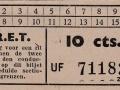 RET 1940 sectiekaartje 10 cts (2) -a