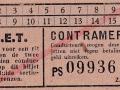 RET 1940 sectiekaartje contramerk (2) -a