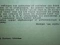 RET 1940 vooruitbetaald plaatsbewijs MH achterzijde -a