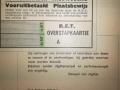 RET 1940 vooruitbetaald plaatsbewijs RN  -a