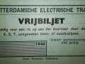 RET 1940 vrijbiljet voorzijde -a