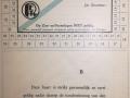 RET 1940 vrijkaart RET-personeel 3 ritten per dag -a