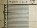 RET 1940 vroegrittenkaart 1,- voorzijde -a