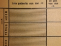 RET 1940 weekkaart buitenlijn 1,50 voorzijde -a