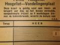 RET 1940 weekkaart buitenlijn 80 ct voorzijde -a