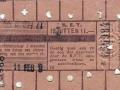 RET 1942 12 rittenkaart 1,- -2- -a