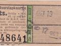 RET 1942 overstapkaartje 13 cts (503) -a