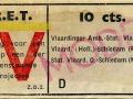 RET 1943 enkele reis Vlaardingen-Schiedam 10 cts (628) -a