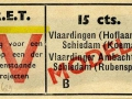 RET 1943 enkele reis Vlaardingen-Schiedam 15 cts (629) -a