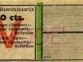 RET 1943 overstapkaartje Vlaardingen-Schiedam 20 cts (633) -a