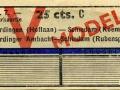 RET 1943 retourkaartje Vlaardingen-Schiedam 25 cts (636) -a