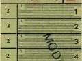 RET 1943 schoolkaart Schiedam-Vlaardingen 0,80 (116) -a