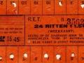 RET 1945 24-ritten weekkaart 1,50 (2) -a