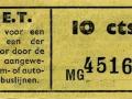 RET 1945 enkele reis 10 cts (501-2) -a