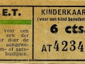 RET 1945 kinderkaartje 6 cts (502) -a