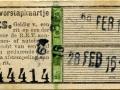 RET 1945 overstapkaartje 2 lijnen 15 cts (503) -a