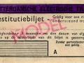 RET 1945 restitutiebiljet (507) -a
