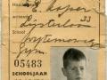 RET 1949 schoolstamkaart 0,25 -a