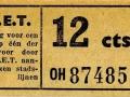 RET 1950 enkele reis 12 cts (525) -a
