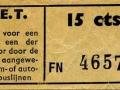 RET 1950 enkele reis 15 cts (509) -a