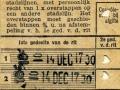 RET 1951 4-ritten overstapkaart stadslijnen 0.60 (22) -a