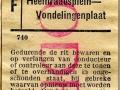 RET 1953 enkele reis buitentraject 50 cts (740) -a