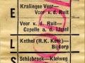 RET 1953 enkele reis buitentrajecten 12 cts (733) -a