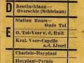 RET 1953 enkele reis buitentrajecten 15 cts (734) -a