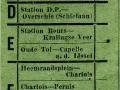 RET 1953 kinderkaartje buitentraject 10 cts (747) -a
