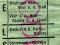 RET 1953 kinderkaartje buitentraject 7 cts (746) -a
