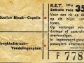RET 1954 enkele reis buitenlijn 35 cts (105g) -a