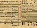 RET 1954 enkele reis stads of buitenlijnen 20 cts (102) -a