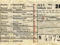 RET 1954 enkele reis stads of buitenlijnen 20 cts (102b) -a