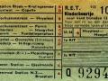 RET 1954 kinderkaartje 10 cts (113) -a