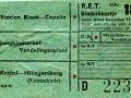 RET 1954 kinderkaartje buitenlijnen 18 cts (114c) -a