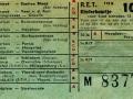 RET 1958 kinderkaartje stads of buitenlijnen 10 cts (112b) -a