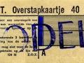 RET 1958 overstapkaartje 40 cts (124H) -a