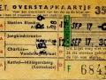 RET 1958 overstapkaartje buitenlijn 35 cts (123c) -a