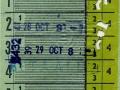 RET 1958 school weekkaart 1,10 (85B) -a