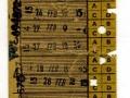RET 1958 weekkaart 2 overstapritten 2,25 -a