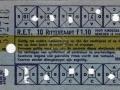 RET 1961 10 ritten kinderkaart 1,10 (255B) -a