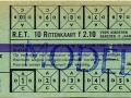 RET 1961 10-ritten kinderkaart bijzondere buslijnen 2,10 (260) -a