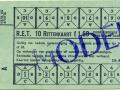 RET 1961 10-ritten kinderkaart lijnen 34-38 1,60 (256A) -a