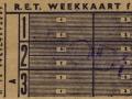 RET 1961 weekkaart 2,70 (276C) -a