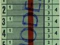 RET 1963 Schoolkaart 4 ritten per dag 2,40 -a