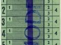 RET 1963 Schoolkaart 4 ritten per dag 2,65 -a
