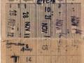 RET 1964 5-ritten overstapkaart 1,25 (259B) -a