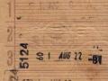 RET 1964 5 ritten trajectkaart 2,00 (54) -a