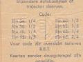 RET 1964 5 ritten trajectkaart 2,25 achterzijde (354) -a