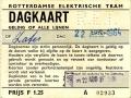 RET 1964 Dagkaart alle lijnen 1,25 -a
